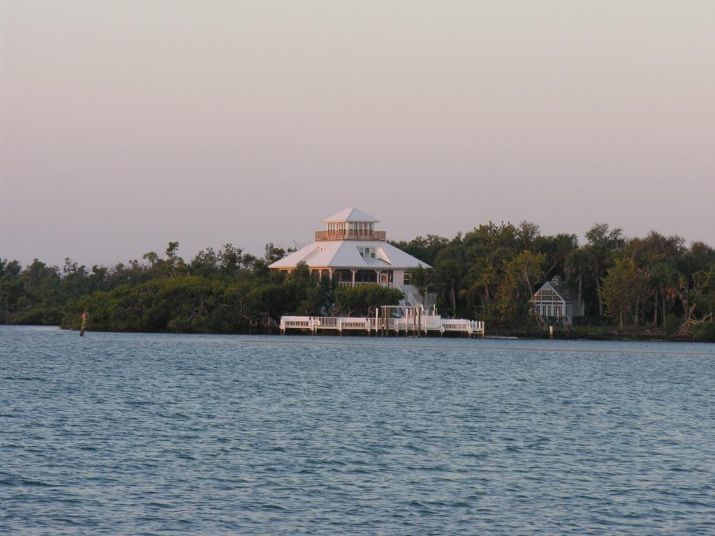 over to Cabbage Key.