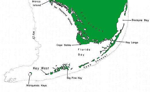 South Florida Keys Map Deboomfotografie Florida Keys Us Map